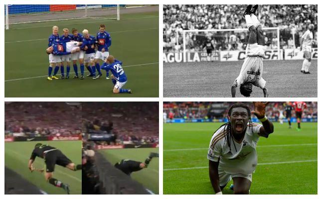 Las celebraciones de gol más llamativas