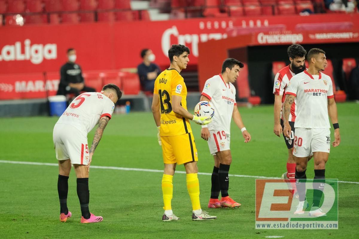 Las notas del Sevilla FC ante el Athletic