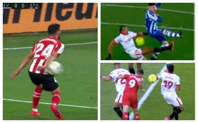 ¿Fue mano y penalti?