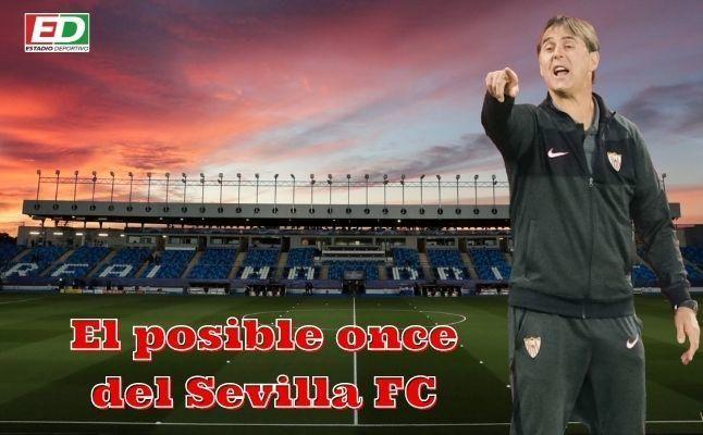 El posible once del Sevilla FC ante el Real Madrid