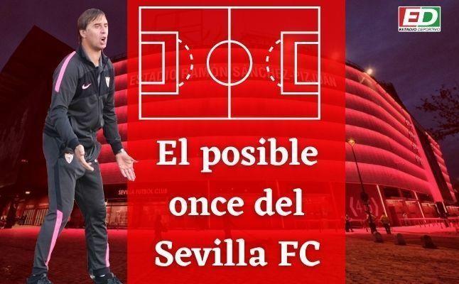 El posible once del Sevilla FC ante el Valencia CF
