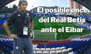 El posible once del Betis en Eibar