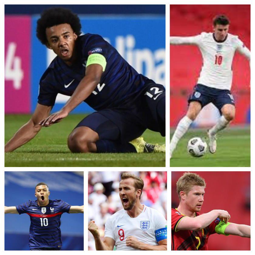 Los Jugadores más valiosos de la Eurocopa 2021