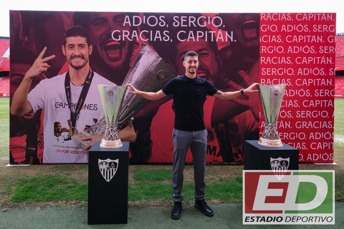 La despedida de Sergio Escudero del Sevilla FC