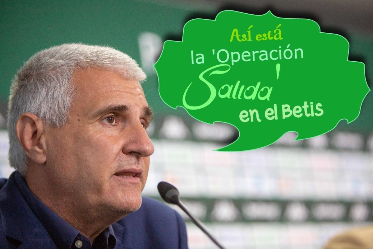 Operación salida en el Betis