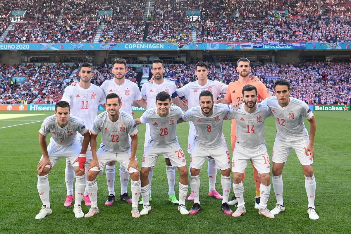 Las notas de España frente a Croacia