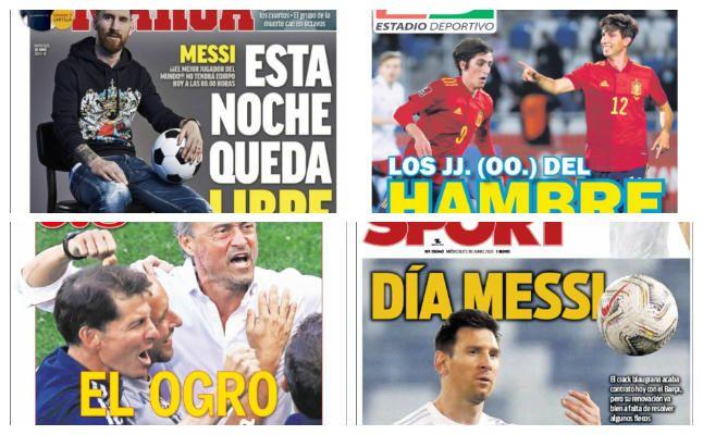 Las portadas del 30 de junio