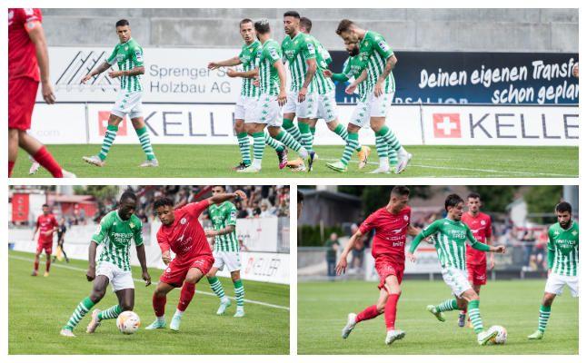 Notas de los jugadores del Betis contra Winterthur