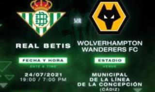 Calendario de pretemporada del Real Betis