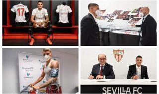 Lamela ya es futbolista del Sevilla FC