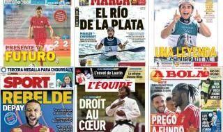 Las portadas del miércoles 28 de julio