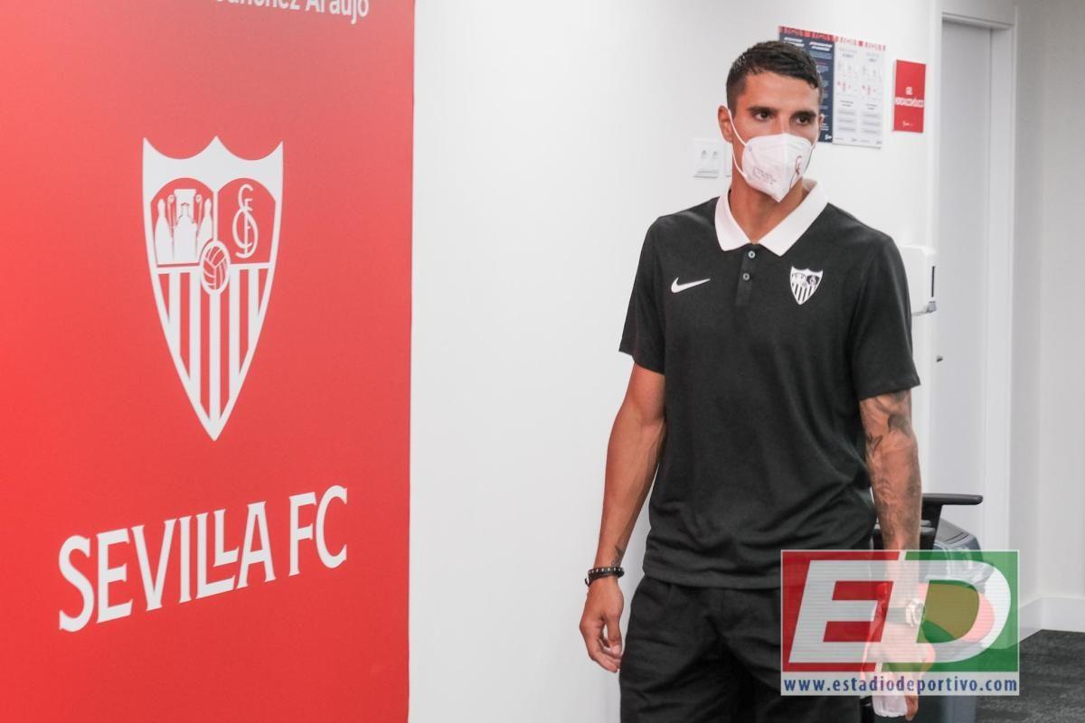 Sevilla FC: Presentación de Erik Lamela