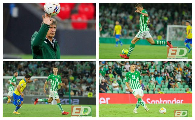 Posible once titular del Real Betis contra Granada