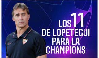 Posible Once Titular Sevilla FC contra RB Salzburgo (Champions League)