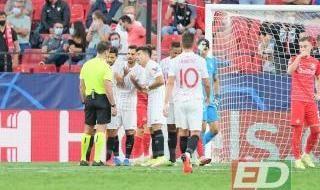 Sevilla FC - RB Salzburgo, en imágenes