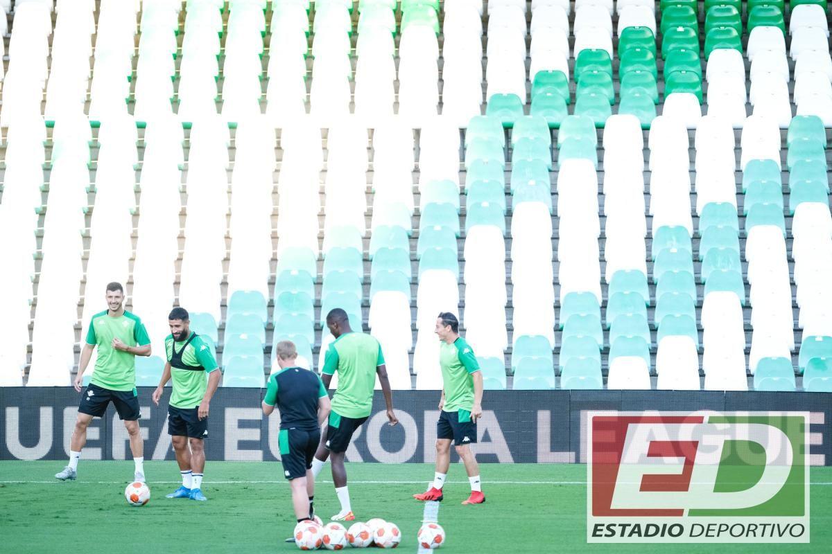 Entrenamiento Betis (Europa League)