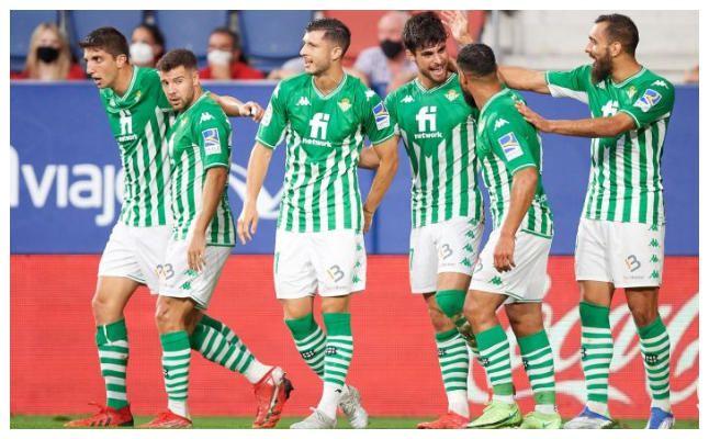Las notas del Real Betis contra CA Osasuna