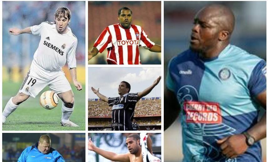 Jugadores famosos por su juego... y por sus kilos