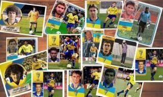 Cromos de los jugadores del Cádiz CF
