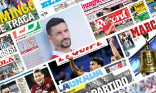 Las portadas de la prensa deportiva del 17 de octubre