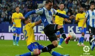 Goles y mejores imágenes del Espanyol 2-0 Cádiz