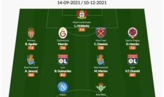 Nabil Fekir en el mejor XI de la UEFA Europa League tras tres jornadas