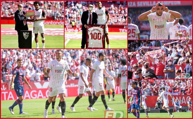 Las mejores imágenes del Sevilla FC 5-3 Levante UD