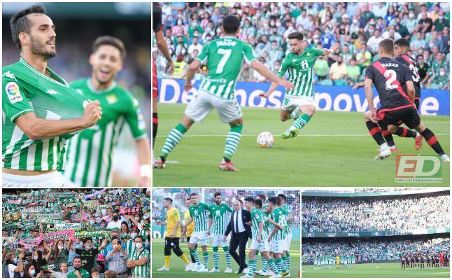 Las mejores imágenes del Real Betis-Rayo Vallecano